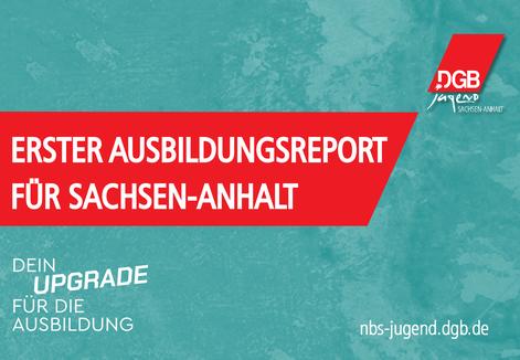 Ausbildungsreport Sachsen-Anhalt 2018