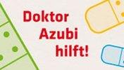 Schriftzug: Dr. Azubi hilft!