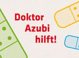 Schriftzug: Dr. Azubi
